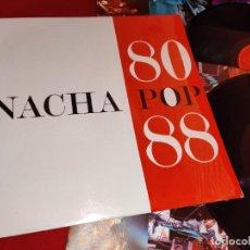 Discos de vinilo: NACHA POP 80 88 2LP 1988 POLYDOR MOVIDA POP NACHO VEGA. Lote 243648220