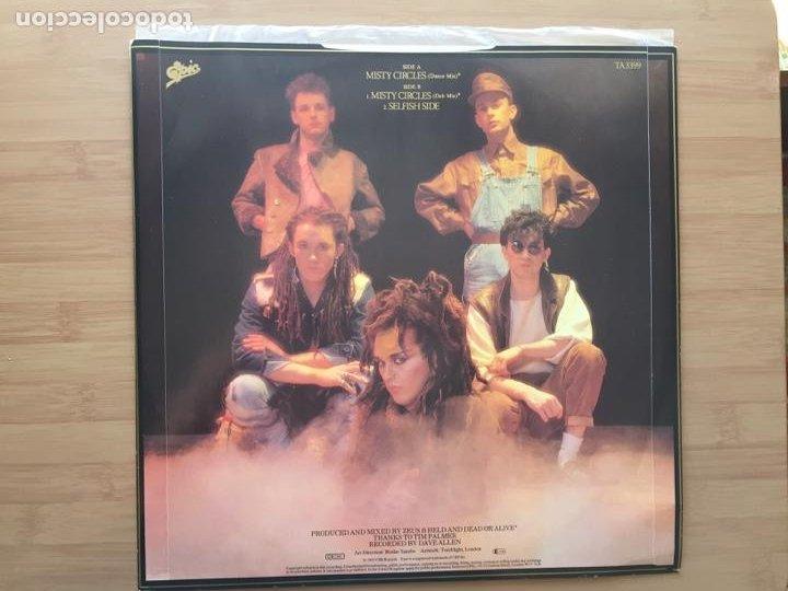 Discos de vinilo: DEAD OR ALIVE. Mysty circles (vinilo maxi 1983) - Foto 2 - 243650420