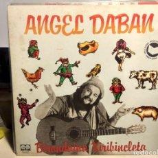 Discos de vinilo: LP ANGEL DABAM : BIRONDAINA XIRIBINCLETA (CANÇONS INFANTILS ). Lote 243661305