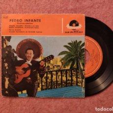 Discos de vinilo: EP PEDRO INFANTE - BESAME, MORENITA / DERECHO A LA VIDA +2 - 20 601 EPH - SPAIN PRESS (EX-/EX-). Lote 243663015