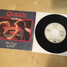 """Dischi in vinile: QUEEN - ONE YEAR OF LOVE - FROM THE FILM HIGHLANDER - SINGLE PROMO RADIO 7"""" - 1986 ESPAÑA. Lote 243663485"""