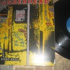 Discos de vinilo: THUNDERHEAD - BEHIND THE EIGHT - BALL - (INTERCORD 1989 )OG . GERMANY - PORTADA ABIERTA SIN SEÑALES. Lote 243665615