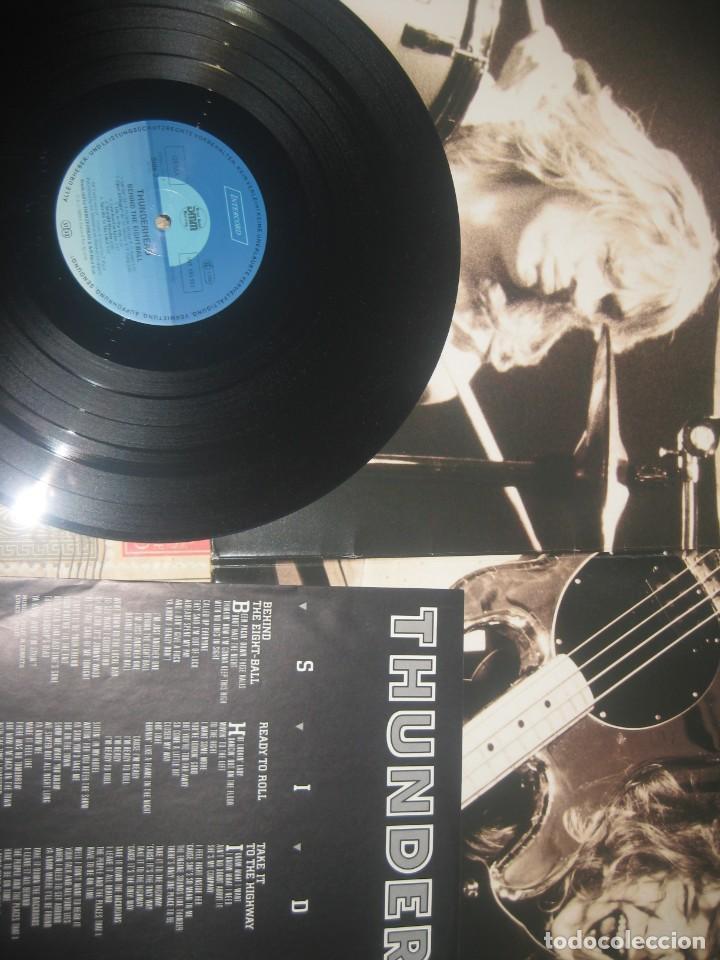 Discos de vinilo: Thunderhead - Behind the Eight - Ball - (INTERCORD 1989 )OG . Germany - Portada abierta sin señales - Foto 2 - 243665615