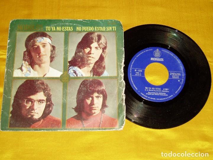 SINGLE MODULOS - TU YA NO ESTAS HISPAVOX (Música - Discos - Singles Vinilo - Grupos Españoles de los 70 y 80)