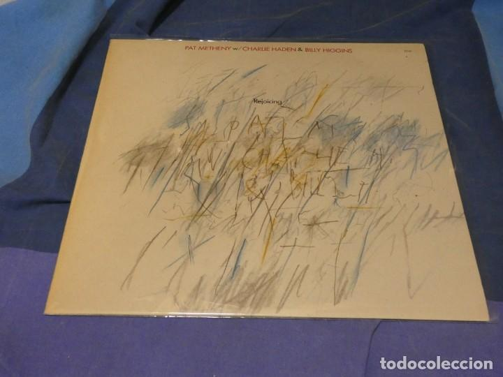 EXPRU LP PAT METHENY GROUP CHARLE HADEN AND BILLY HIGGINS ECM 1984 VINILO EXCEPELENTE (Música - Discos - LP Vinilo - Pop - Rock - Extranjero de los 70)