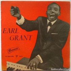 Discos de vinilo: EARL GRANT. HOUSE OF BAMBOO/ TWO LOVES HAVE I/ LA SEINE/ C'EST SI BON. BRUNSWICK, SPAIN 1960 EP. Lote 243669595