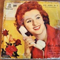 Discos de vinilo: JORGE FOSTER - TOP POPS N 2**** RARO EP ESPAÑOL 1958. Lote 243669860