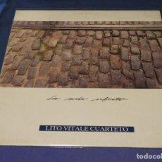 Discos de vinilo: EXPRU LP LITO VITALE CUARTETO LA SENDA INFINITA DRO 89 VINILO BUENIIIISIMO. Lote 243673225