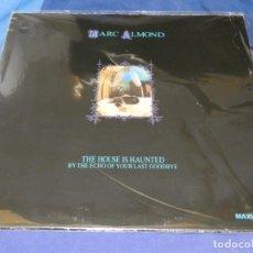 Discos de vinilo: EXPRU MAXI SINGLE MARC ALMOND THE HOUSE IS HAUNTED PORTADA NORMAL VINILO ESTADO NOTABLE. Lote 243675060