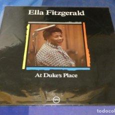 Discos de vinilo: EXPRU LP MUY BUEN ESTADO ELLA FITZGERALD AT DUKE´S PLACE MUY BUEN ESTADO DE VINILO DE AGOSTINI. Lote 243675120