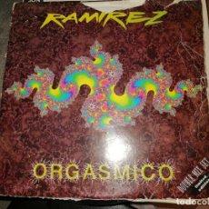 Discos de vinilo: DISCO LOS RAMIREZ. ORGASMICO. DOUBLE MIX SET. LIMITED EDITION. Lote 243675735
