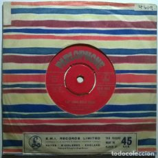Discos de vinilo: SANTO & JOHNNY. TEARDROP/ THE LONG WALK HOME. PARLOPHONE, UK 1959 SINGLE. Lote 243683185