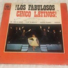 Discos de vinilo: EP LOS FABULOSOS CINCO LATINOS - EL RELICARIO Y OTROS TEMAS - CBS AGS20.084 -PEDIDOS MINIMO 7€. Lote 243685965