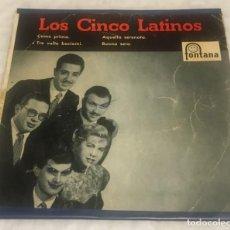 Discos de vinilo: EP LOS CINCO LATINOS - COME PRIMA Y OTROS TEMAS - FONTANA 462.088TE -PEDIDOS MINIMO 7€. Lote 243686640
