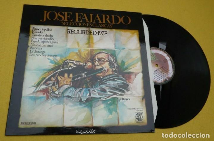 LP JOSE FAJARDO - SELECCIONES CLASICAS - COCO CLP 141X - FRANCE PRESS (EX+/M-)Ç (Música - Discos - LP Vinilo - Grupos y Solistas de latinoamérica)