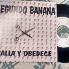 Discos de vinilo: SINGLE (VINILO) -PROMOCION-DE SEGUNDO BANANA AÑOS 90. Lote 243762245