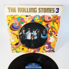 Discos de vinilo: THE ROLLING STONES ‎– THE ROLLING STONES 3 /SPECIAL SERIES/ONLY FOR JAPAN DESIGNED PSYCHEDELIC COVER. Lote 243764000