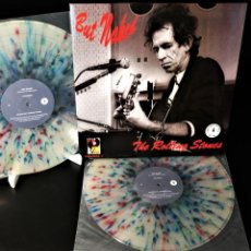 Discos de vinilo: THE ROLLING STONES – BUT NAKED / LIMITED EDITION 500 COPIES WORLDWIDE / NUMBERED / MULTICOLORED. Lote 243772235