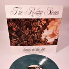 """Discos de vinilo: THE ROLLING STONES - LONELY AT THE TOP / MEGA RARE """"SOLD OUT """"GREEN /SPLASH YINYL. Lote 243779540"""