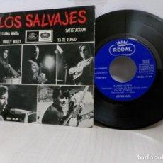 Discos de vinilo: LOS SALVAJS. SE LLAMA MARIA - EP DE 4 CANCIONES - EMI-1965-. Lote 243782445