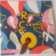 Discos de vinilo: SEXTETO LA PLAYA - RITMOS CUBANOS Nº 4 - MARCA BIEN LOS PASOS + 3 TEMAS, JUANITO BELTER - ¿AÑO?. Lote 243783310