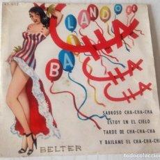 Discos de vinilo: SEXTETO LA PLAYA - SABROSO CHA CHA CHA + 3 TEMAS BELTER ¿AÑO?. Lote 243786675