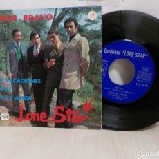 Discos de vinilo: LONE STAR---AMOR BRAVO- EP DE 4 CANCIONES - 1967-EMI BCN. Lote 243787195