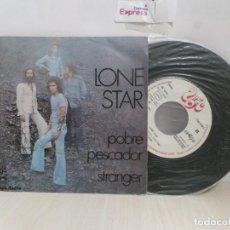 Discos de vinilo: LONE STAR---POBRE ---TRANGER-SPAIN- UNIC-1974-. Lote 243787680