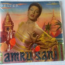 Discos de vinilo: AMRU SANI - TABASCO BELTER - 1956. Lote 243787855