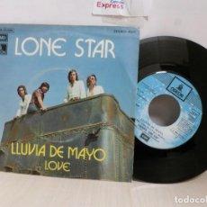 Discos de vinilo: LONE STAR --LLUVIA DE MAYO--LOVE--EMI1972--BCN. Lote 243788350
