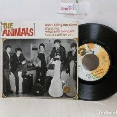 Discos de vinilo: THE ANIMALS --DON'T BRING ME DOWN---EP DE 4 CANCIONES- BARCLAY-MADE IN FRANCE-. Lote 243789095