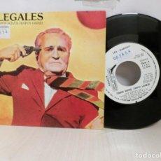 Discos de vinilo: ILEGALES -TIEMPOS NUEVOS ,TIEMPOS SALVAJES -MADRID- 1984-. Lote 243789770