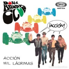 """Discos de vinilo: DON & BANDA CLUB – ACCIÓN (MADMUA,MAD028 7"""", EP, NUMERADO, 2021) NUEVO + POSTAL Y DÍPTICO. Lote 243790955"""