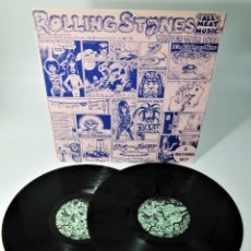 """Discos de vinilo: THE ROLLING STONES – """"ALL-MEAT MUSIC"""" WINTER TOUR 1973 /VERY RARE AND """"HARD TO FIND"""". Lote 243791875"""