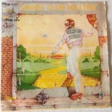 Discos de vinilo: ELTON JOHN - GOODBYE YELLOW BRICK ROAD D J M - 1973. Lote 243792670