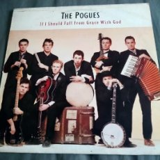 Disques de vinyle: LP THE POGUES. IF I SHOULD FALL FROM GRACE WITH GOD.. Lote 243793810