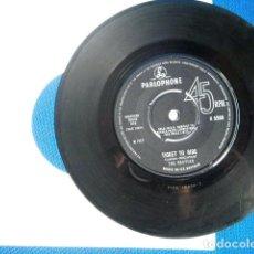 Discos de vinilo: BEATLES SINGLE ORIGINAL EP GREAT BRITAIN CONJUNTO MUSICAL. Lote 243793905