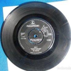 Discos de vinilo: BEATLES SINGLE ORIGINAL ENGLAND CONJUNTO MUSICAL. Lote 243794360