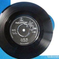 Discos de vinilo: BEATLES SINGLE ORIGINAL AÑOS 60 ENGLAND CONJUNTO MUSICAL. Lote 243794675