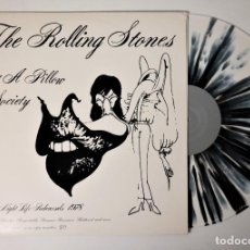 Discos de vinilo: THE ROLLING STONES - JUST A PILLOW OF SOCIETY 1978 LIMITED EDITION OF 80 COPIES / NO. 80 / SOLD OUT. Lote 243794945