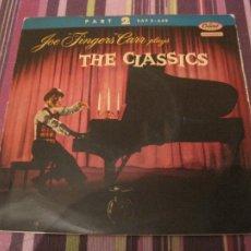 Discos de vinilo: EP JOE FINGERS CARR THE CLASSICS CAPITOL 2-649 SPAIN RAGTIME JAZZ. Lote 243796130
