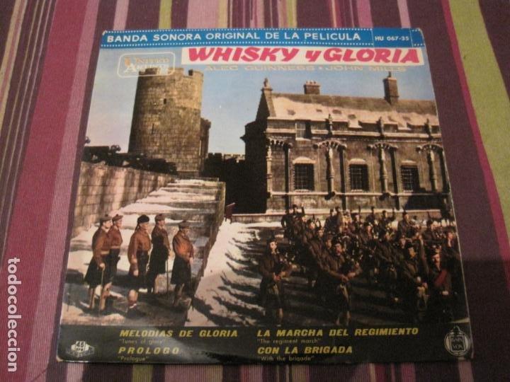 EP WHISKY Y GLORIA BANDA SONORA HISPAVOX 067 35 (Música - Discos de Vinilo - EPs - Bandas Sonoras y Actores)