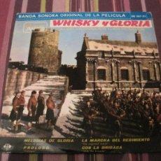 Discos de vinilo: EP WHISKY Y GLORIA BANDA SONORA HISPAVOX 067 35. Lote 243796605