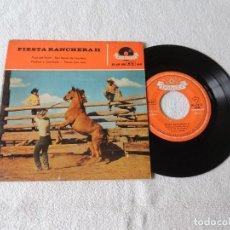 Discos de vinilo: FIESTA RANCHERA II --- PASO DEL NORTE +3 EP 1959. Lote 243803460