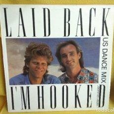 Discos de vinilo: LAID BACK - I'M HOOKED. Lote 243803525