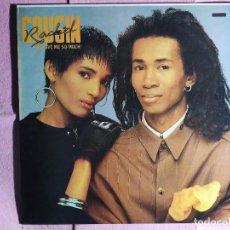 "Discos de vinilo: 12"" COUSIN RACHEL – YOU GIVE ME SO MUCH - LA ROSA RECORDS 51.0175 - PROMO SHEET - MAXI (EX+/EX++). Lote 243807255"