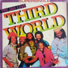 "Discos de vinilo: THIRD WORLD - TRY JAH LOVE (12"", MAXI) ES 1982. Lote 243773640"
