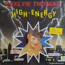 "Discos de vinilo: EVELYN THOMAS - HIGH ENERGY (12"", MAXI) ES 1984. Lote 243773900"