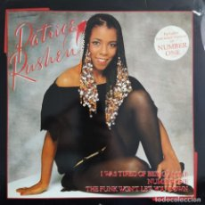 "Discos de vinilo: PATRICE RUSHEN - I WAS TIRED OF BEING ALONE (12"") (1982/UK). Lote 243774790"