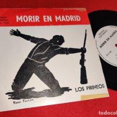 Discos de vinilo: MAURICE JARRE MORIR EN MADRID BSO OST +2 EP 1963 LOS PIRINEOS ARGENTINA. Lote 243809870